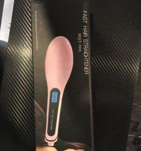 Электрическая расческа, для выпрямления волос.