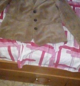 Пиджак вельветовый 40 размер