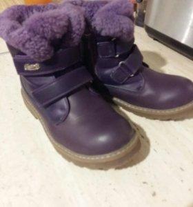 Ботинки детские зимние 32 размер