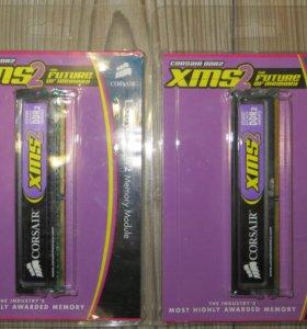 Память DDR2 Corsair CM2X 1024-6400 2x1Gb