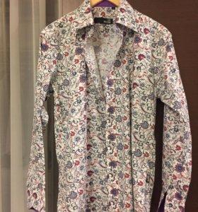Рубашка мужская хлопковая Love Moschino