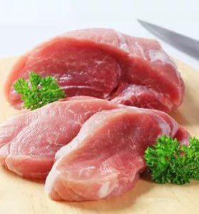 Домашнее мясо свинина