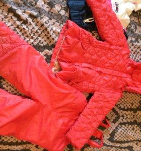 костюм зима-весна (комбез + куртка)