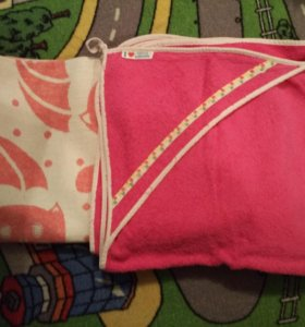Детское одеяло и полотенце