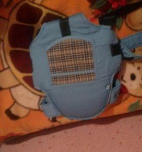 Сумка рюкзак кенгуру детский