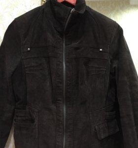 Куртка замшевая состояние новой!!!