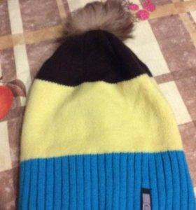 Комплект шапка плюс шарф