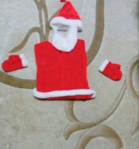 Новогодние костюмы Дед Мороз и Супер Мен