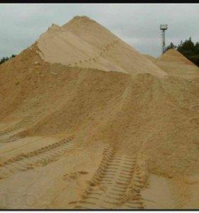 Песок,щебень,пгс, торф.