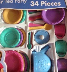 Детская посуда 34 предмета