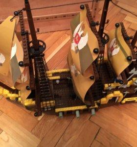 Корабль модель аналог лего