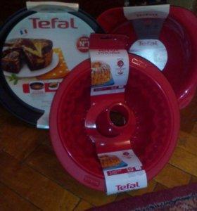 Набор подарочный миска и формы для духовки tefal