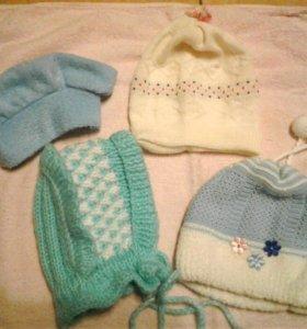 шапки на малышей