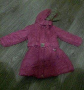 Пальто  98 см(зима)