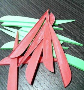 Оперенья для стрел разные, на лук и арбалет