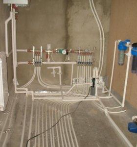 Проектирование,монтаж и ремонт отопления