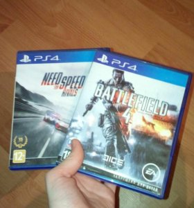 Battlefield и need for speed rivals