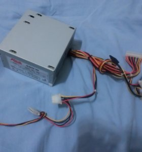 Блок питания Real Power на 400W вентилятор сбоку