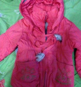Куртка зимняя 98 р