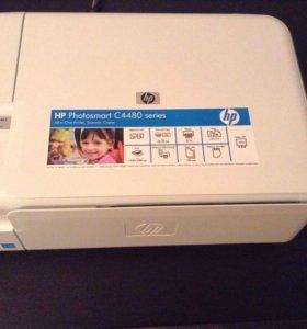 МФУ HP PHOTOSMART C4483 (цветной , б/у)