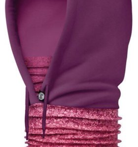 Капюшон BUFF POLAR HOODIE YENTA PINK/ MARDI GRAPE