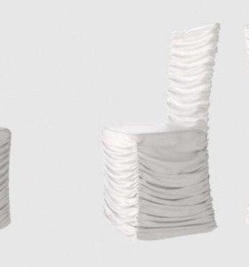 чехлы универсальные( новые) на стулья .