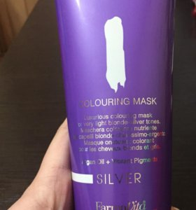 Оттеночная маска для волос