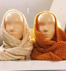 Хомут снуд шарф палантин
