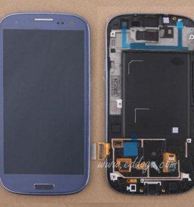 Дисплейный модуль всборе Samsung Galaxy s3 i9300