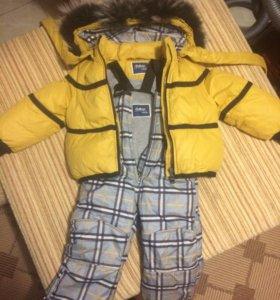 Зимняя куртка+комбинезон