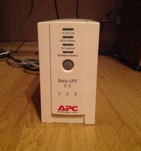 """ИБП """"APC Back-UPS CS500"""" (б/у)"""