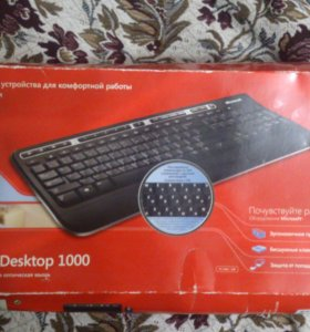 Клавиатура Microsoft Wireless Media Desktop 1000