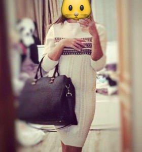 Платье вязанное,O'STIN