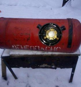Балон для газового оборудования автомобиля.