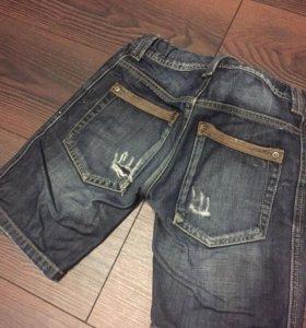Одежда-шорты джинсовые