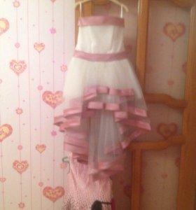 Платье на 8-9 лет.