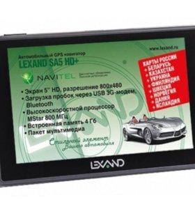 """GPS Навигатор  """"Lexand SA5 HD+"""""""