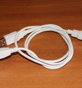 Кабель 2 USB А на 1 USB B