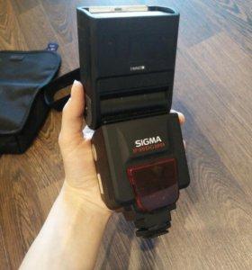 Вспышка Sigma EF-610 dg super для Nikon