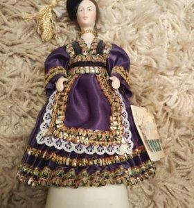 Кукла в национальном костюме, о. Сицилия