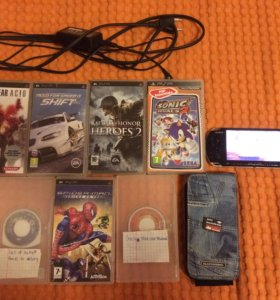 PSP(PlayStationPortable) и игры