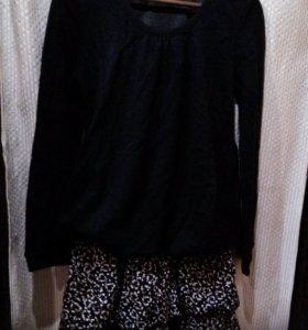 Платье- свитер 48-50