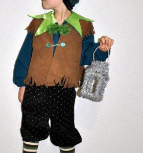 Прокат костюм гнома на 5-7 лет
