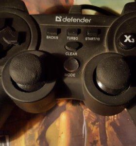 "USB Геймпад для Пк ""Defender"""