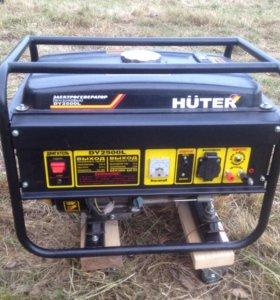 Электрогенератор бензиновый Huter 2500l