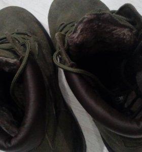 теплые ботинки на зиму