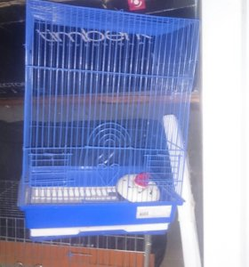 Клетка для попугаев и клетка для кролика