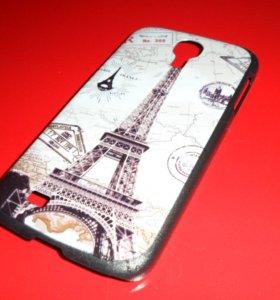 Пластиковый чехол (Париж) на Samsung Galaxy S4