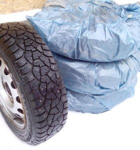 Колёса (шины с дисками) зимние на Митсубиси Кольт