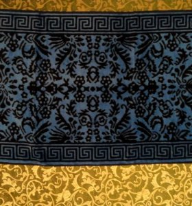 Полотенца махра-велюр лицевые